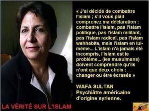 Wafa Sultan_Combattre l'islam - tout court !